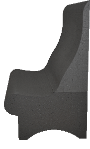 Dampfbadmontage mit Dampfbadsitz T75